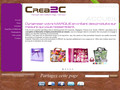 Crea2c, give-away personnalisable