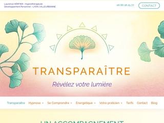 Hypnose Lyon - Transparaitre