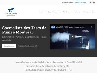 Delta, entreprise spécialisée en test de fumée à Montréal