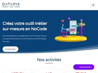 Datapix agence NoCode à nantes