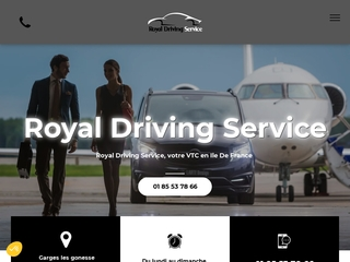 Entreprise de transport Royal Driving Service en Île-de-France