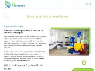 Service de débarras et nettoyage à Paris