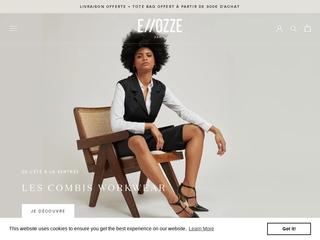 Site e-commerce de mode spécialisé dans la combinaison femme