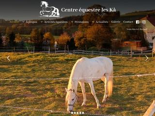 Ferme des Kà, manège et paddock (Suisse)