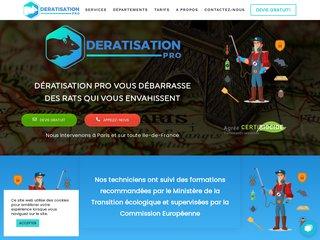 Dératisation Pro - Entreprise de dératisation certifiée