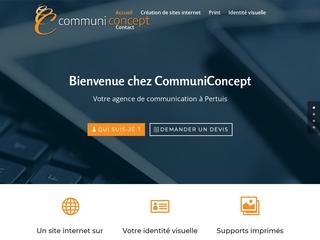 Communiconcept - Créateur de site web à Pertuis et Aix en Pce