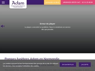 Pompes Funèbres Adam, organisation de funérailles dans le Calvados