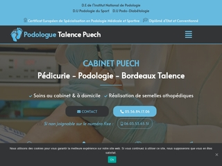 CABINET PUECH :  Pédicurie - Podologie - Bordeaux Talence