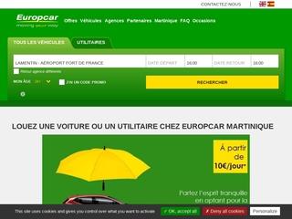Location de voiture en Martinique - Europcar