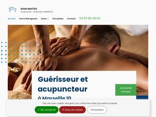 L'acupuncture est pratiquée par MATEO, guérisseur à Marseille 10