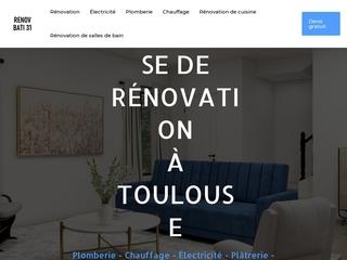 Entreprise de rénovation à Toulouse