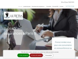 Cabinet Lutetia, avocats spécialistes des droits en assurances