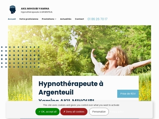 Yamina AKIL MIHOUBI, l'hypnothérapeute  d'Argenteuil