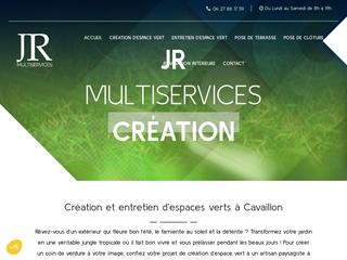 JR MULTISERVICES: Création d'espaces verts à Cavaillon