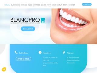 Service de blanchiment dentaire et soins dentaires à Villemomble