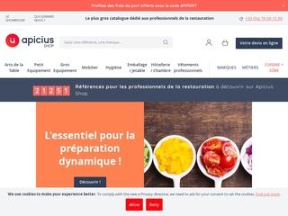 Apicius Shop : materiel de restauration