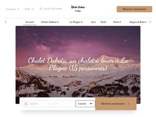 Chalet Dakota - Location de chalet à La Plagne