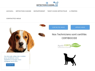 Détection Canine Punaise - Entreprise de Détection Certifiée