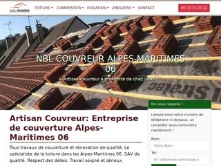 NBL Couvreur Alpes-Maritimes 06