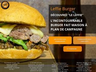 LEFFIE Burger