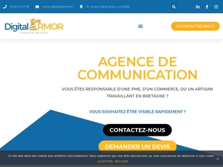 Agence de communication - Digital Armor