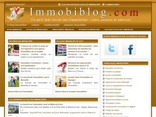 Immobiblog, un blog d'informations immobilières