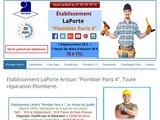 Professionnel plombier Paris 75004