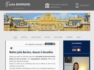 Avocat en droit pénal à Versailles