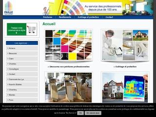 Distributeur de peintures bâtiment Peinture-Paille
