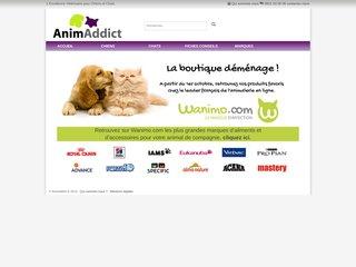 Produits vétérinaires pour animaux AnimAddict
