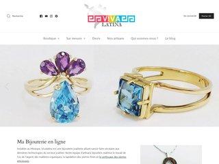 Vivalatina: bijoux argent mexicain en ligne