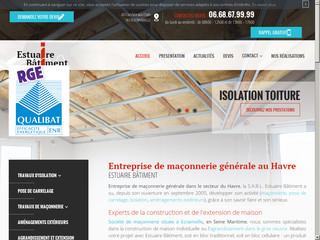 Travaux d'isolation, maçonnerie à Ecrainville, Le Havre