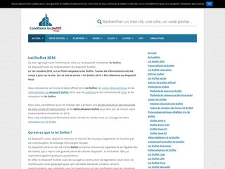 Loi Duflot 2013