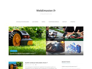 Sites internet, référencement, webdesign : Webemaster