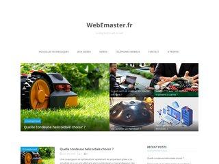 Sites internet, référencement, webdesign : Webemaster