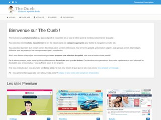 The Oueb, portail de sites Internet