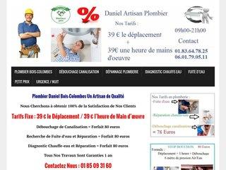Professionnel plombier Bois-Colombes