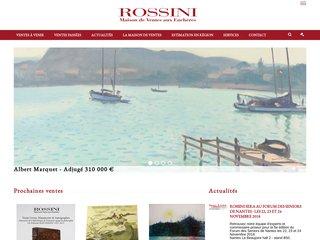 Vente publique avec ROSSINI.