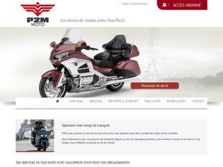 Votre taxi moto avec P2M Moto