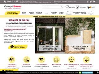 Concept bureau : vente de meubles de bureau