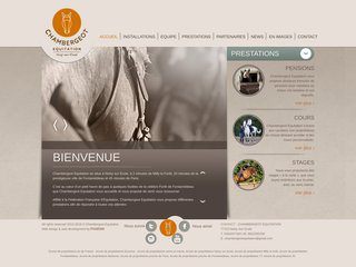 Chambergeot Equitation   Accueil