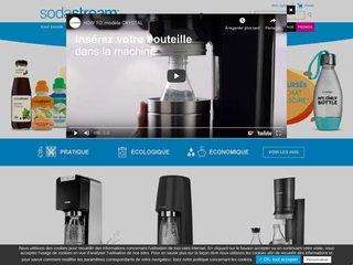 Sodastream –  appareil soda, concentrés, cylindres de CO2 alimentaire