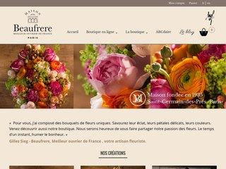 Fleuriste haut de gamme en ligne