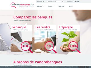 Panorabanques, le comparateur de banques
