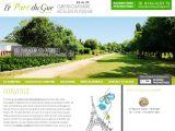 Parc du Gué, camping 3 étoiles près de Paris
