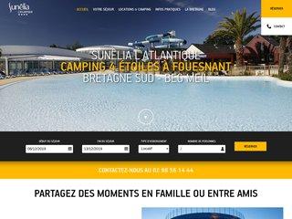 Camping à Fouesnant : Sunêlia l'Atlantique