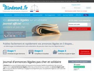 Journal L'Itinérant