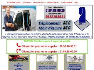 Artisan Thierry Plombier Paris 75001