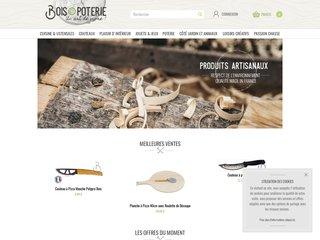 Bois et Poterie - Objets en bois
