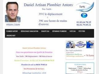 Plombier Antony